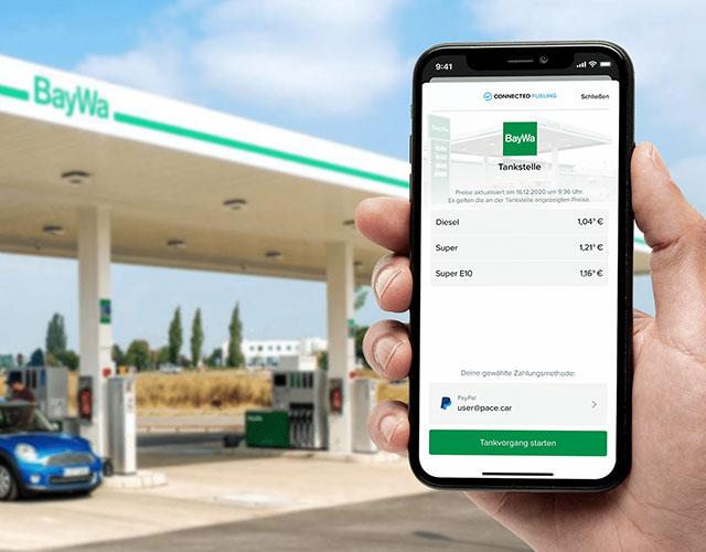 BayWa wird Teil der Connected Fueling Plattform