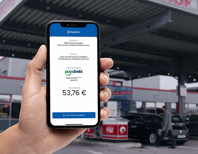 Mit paydirekt jetzt mobil an der Zapfsäule bezahlen