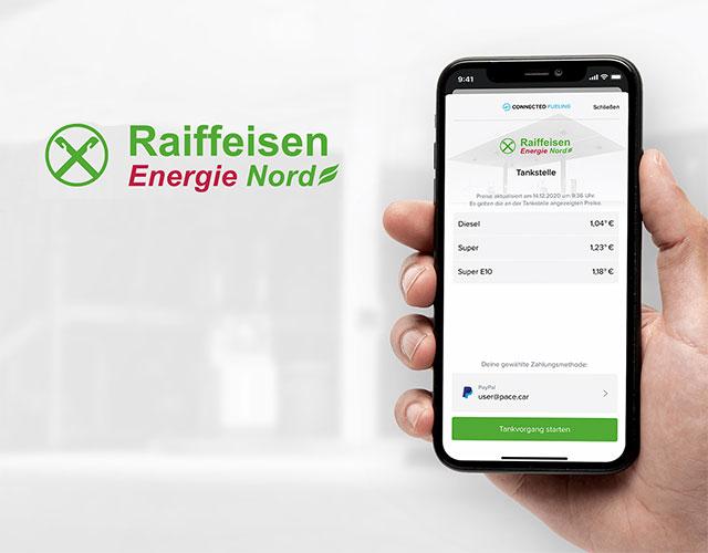 Connected Fueling jetzt auch an Raiffeisen Energie Nord Tankstellen verfügbar